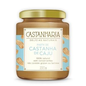 Pasta de Castanha de Caju 210g - Castanharia