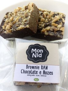 Brownie Raw 40g - MonNid