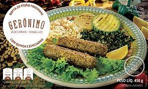 Kafta de feijão fradinho com quinoa e especiarias 400g (8 unidades) - Gerônimo