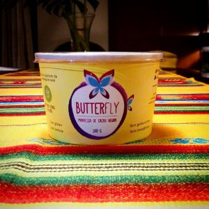 Manteiga vegana 160g - Butterfly