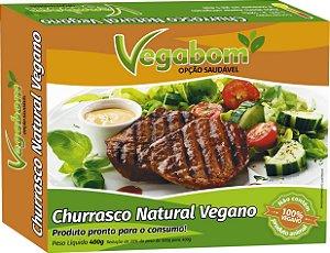Churrasco Natural Vegano 400g - Vegabom