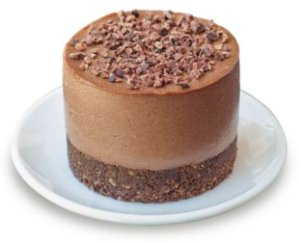 CheeZecake Chocolate Vegano (2 unidades) 240 g- SEEdS
