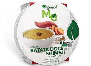 Sopa de batata doce com shimeji e alho poró 400g - Organic 4