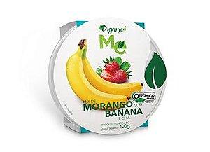 Mix de morango com banana e chia 100g - Organic 4