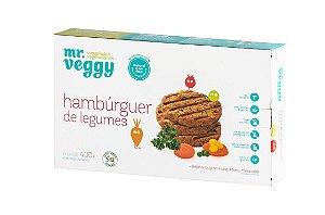 Hambúrguer de Legumes 400g (6 unidades)
