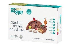 Pastel integral recheado com palmito 360g (5 unidades)