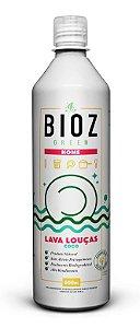 Detergente Lava Louças Coco 600ml - BIOZ Green