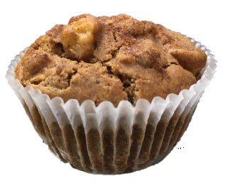Muffin de Maçã com Canela - Plantê