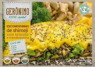 Escondidinho de Shimeji com brócolis e mandioquinha (400g) - Gerônimo