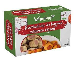 Enroladinho de Linguiça Vegana (400g) - Vegabom