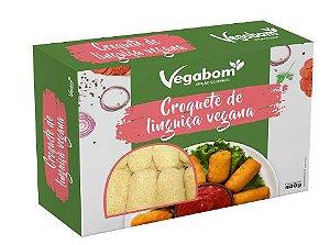 Croquete de linguiça vegana (400g) - Vegabom