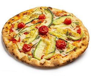 Pizza Vegana de Abobrinha e Tomate cereja - 230g