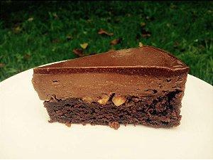Torta de Brownie e creme de avelã - MonNid