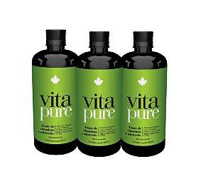 KIT 03 Unidades -  Vita Pure - Nutriscience - 500ml
