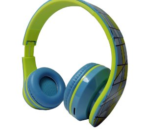 Fone de ouvidos c/ Microfone Wings – Wireless Bluetooth Radio Fm -Headphone bt003 - Blue - Lançamento!