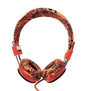 Fone de ouvidos c/ Microfone - Wings p/ Smartphones / MP3 / MP4 / Tablet / PC - Headphone ep05b