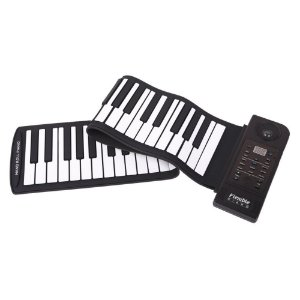 Teclado Musical Flexível 88 Teclas Usb / Midi - Konix - Hand Roll Piano - PU88M- Lançamento !