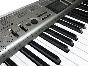 Teclado Musical Casio Ctk 1300 - Arranjador 61 Teclas + Fonte  + Suporte Partitura