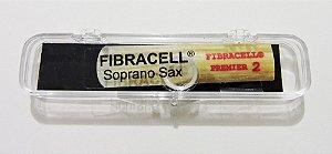 Palheta p/ Sopro Fibracell Premier - Sax Soprano n°2 (original USA)