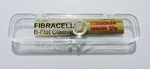 Palheta p/ Sopro Fibracell Premier - B-Flat Clarinete n°1,5 (original USA)
