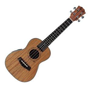 Ukulele Concert Barth Guitars Eletro Acústico (eletrico) Natural - EQ