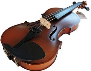 Violino p/ Canhoto Barth Violin Old 4/4 (envelhecido) - com Estojo + Arco + Breu - Completo!