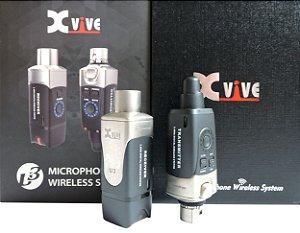 Transmissor Wireless 2.4 GHz  - Xvive U3 para Microfones - Sem Fio