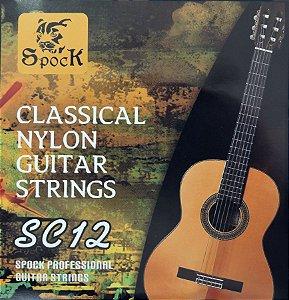 Cordas Nylon P/ Violão - Spock Sc12 - Classical Guitar Imp