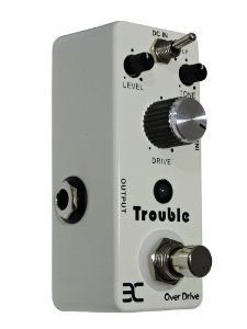 Pedal Over Drive p/Guitarra - Trouble Eno Music -  TCube Tc16
