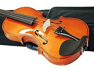 Violino Barth NT Bright 4/4 - com Estojo + Arco + Breu - Completo - BK - Frete Grátis Sul