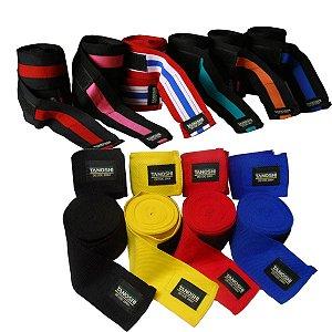 Kit 30 Bandagem elástica 3 metros cores variadas