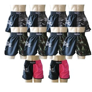 Kit 10 Shorts Half MuayThai