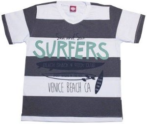 Camiseta listrada Surfers