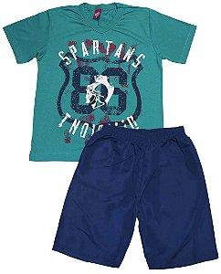 Conjunto Masculino Infantil Spartan