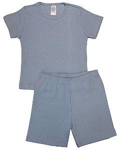 Conjunto Pijama Blusa e Bermuda