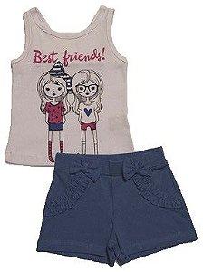 Conjunto Regata e Shorts