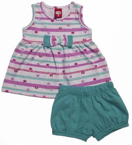 Conjunto Bebê Blusa e Shorts