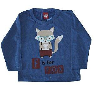 Blusa Fox Meia Malha