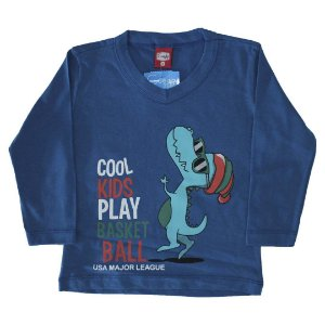 Blusa Meia Malha Cool Kids