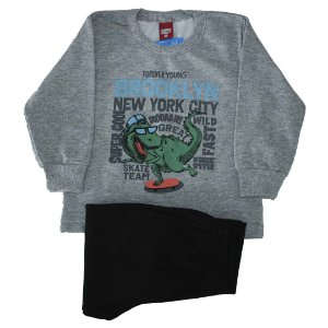 Conjunto Moletom Dino Brooklyn