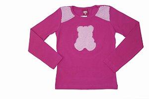 Blusa Cotton Urso