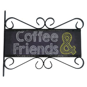 Placa Aramado Coffee & Friends AB-40