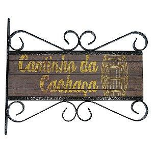 Placa Aramado Cachaça AB-43