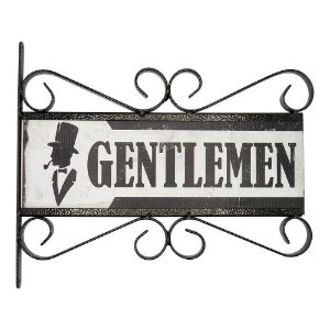 Placa Aramado Gentlemen AB-47