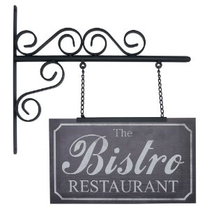 "Placa ""The Bistro Restaurant"" AB-52"