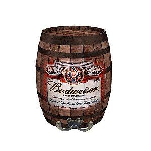 Barril Decorativo Budweiser Médio BD-10