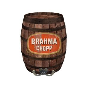 Barril Decorativo Brahma Chopp Médio BD-14