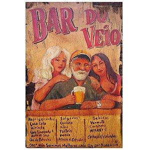 Placa Bar do Véio BD-86