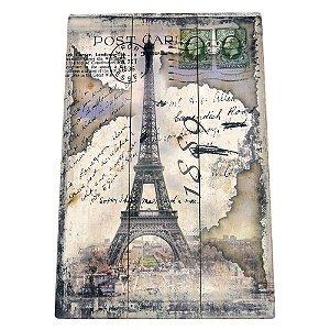 Quadro de Madeira Torre Eiffel CF-21