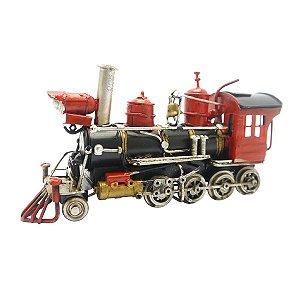Locomotiva Decorativa Pequena em Metal CM-45